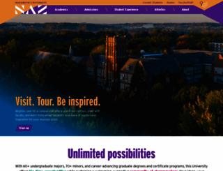 naz.edu screenshot
