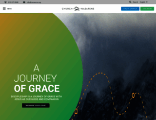nazarene.org screenshot