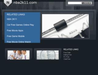 nba2k11.com screenshot