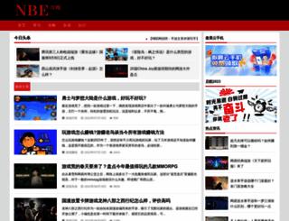 nbegame.com screenshot