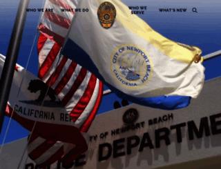 nbpd.org screenshot