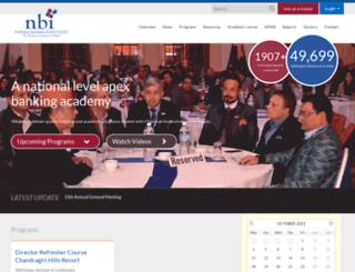 nbti.com.np screenshot