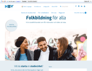 nbv.se screenshot