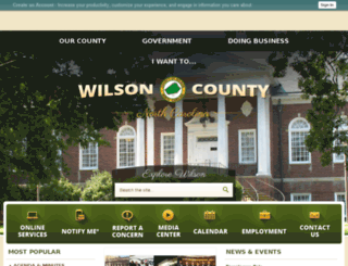 nc-wilsoncounty2.civicplus.com screenshot