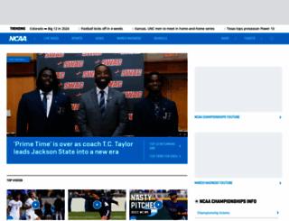 ncaafootball.com screenshot
