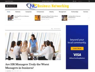 ncbusinessnetworking.com screenshot
