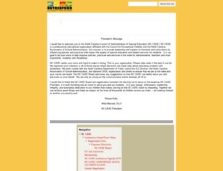 nccase.rcsnc.org screenshot