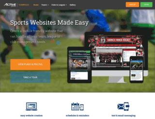 nccfnl.clubspaces.com screenshot