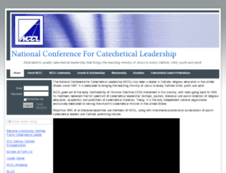 nccl.wildapricot.org screenshot