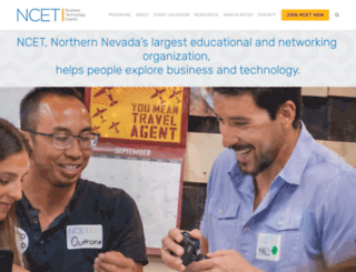ncet.org screenshot