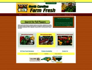 ncfarmfresh.com screenshot