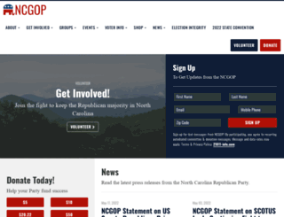 ncgop.org screenshot