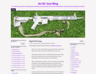 ncgunblog.com screenshot
