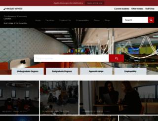 nchum.org screenshot
