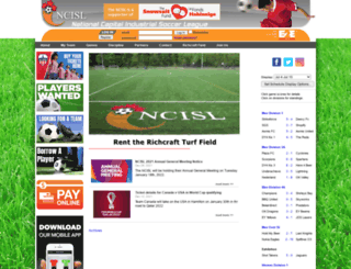 ncisl.com screenshot