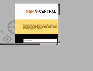 ncod8.n-able.com screenshot