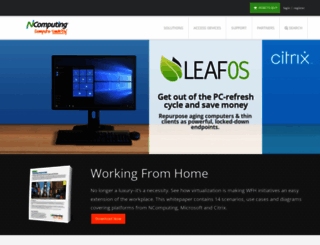 ncomputing.com screenshot