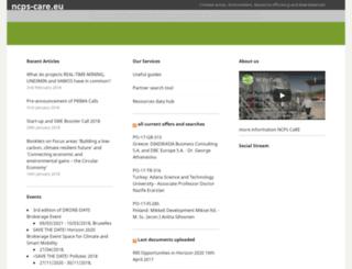 ncps-care.eu screenshot