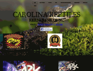ncreptiles.com screenshot