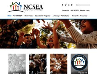 ncsea.org screenshot