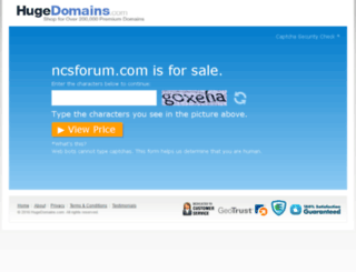 ncsforum.com screenshot