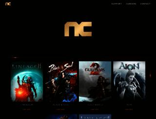 ncsoft.com screenshot