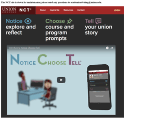 nct.union.edu screenshot