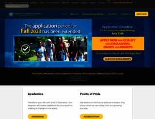 ncu.edu.jm screenshot