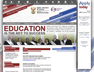 ncutvet.edu.za screenshot
