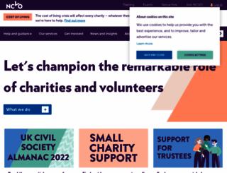 ncvo.org.uk screenshot
