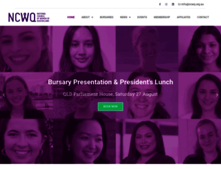 ncwq.org.au screenshot