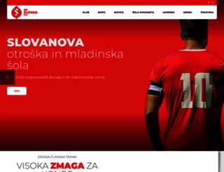 nd-slovan.si screenshot