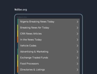 ndibe.org screenshot