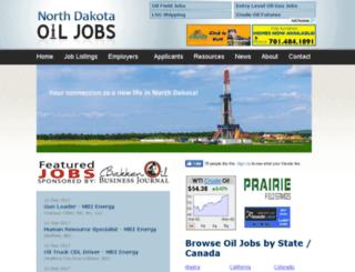 ndoiljobs.com screenshot