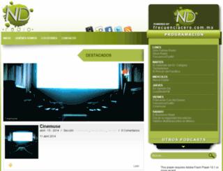 ndradio.fm screenshot