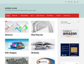 ndrekgjini.com screenshot