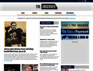 ndsmcobserver.com screenshot
