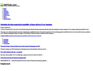 ndtcalc.com screenshot