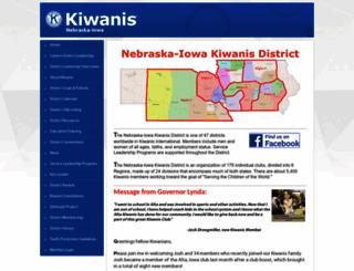 ne-ia.kiwanisone.org screenshot
