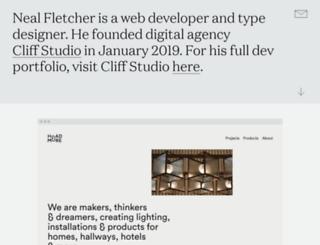 nealfletcher.co.uk screenshot