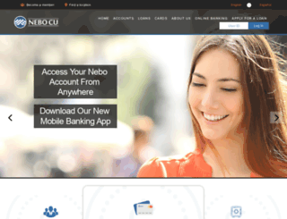 nebocreditunion.org screenshot