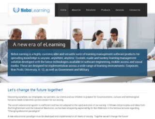 nebolearning.com screenshot