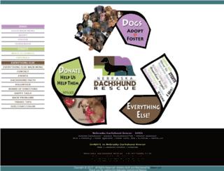 nebraskadachshundrescue.org screenshot