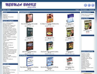 nebulabooks.com screenshot
