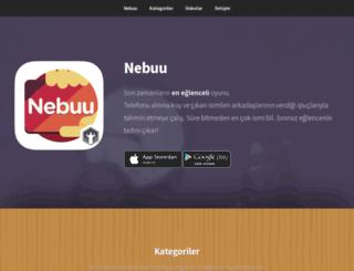 nebuu.com screenshot