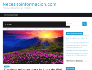 necesitoinformacion.com screenshot