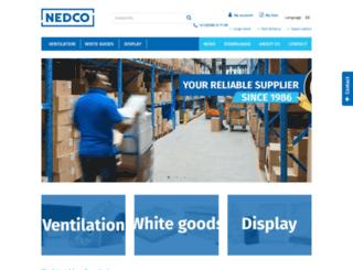 nedco.nl screenshot
