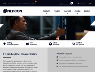 nedcon.com screenshot