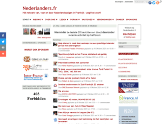 nederlanders.fr screenshot