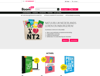 nederlandsalstweedetaal.nl screenshot